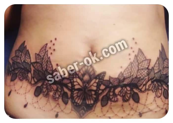 tatuajes para cubrir estrias