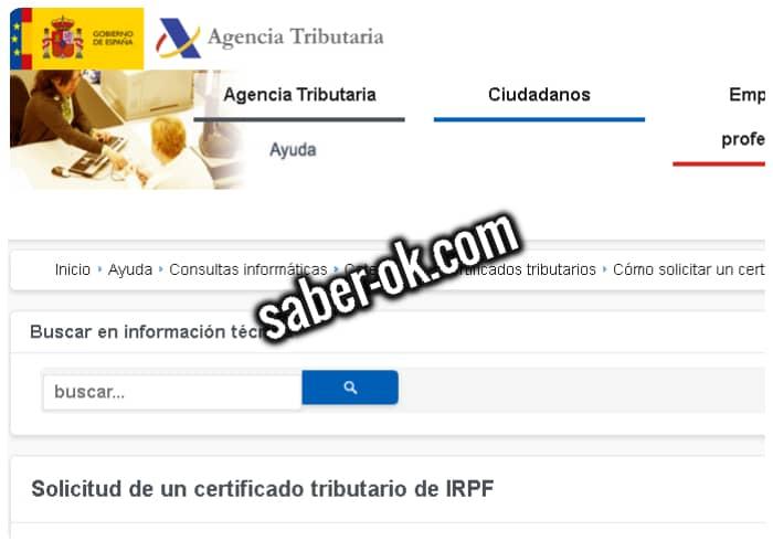 certificado de imputaciones del irpf