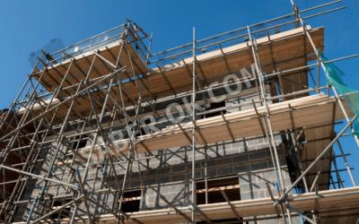 Prevención de robos a viviendas y oficinas a través de andamios